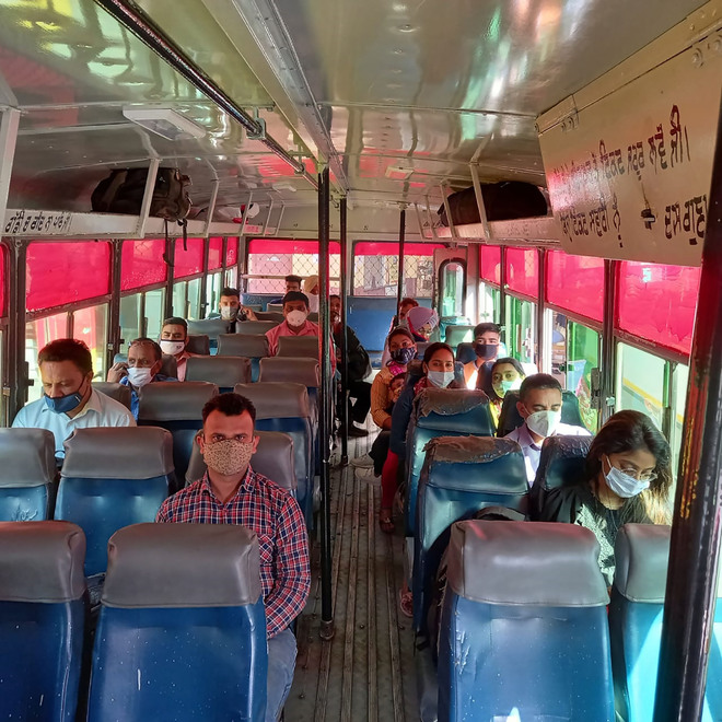 Nearly 5,000 women travel in 185 govt buses in two days