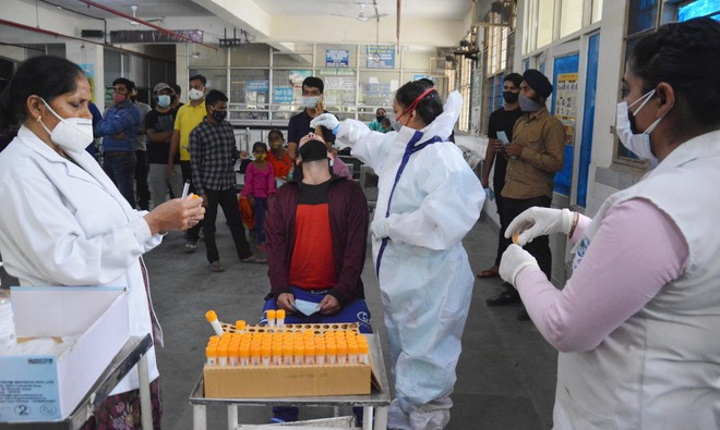 Covid-19: Ludhiana district breaks records; 835 cases in a day