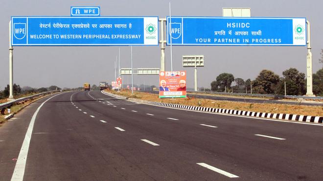 Nine Haryana highway projects in slow lane