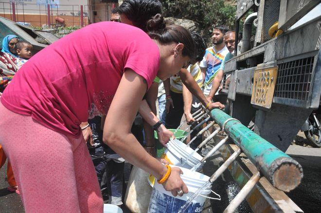 Water crisis in Bhiwani, Hisar, Charkhi Dadri