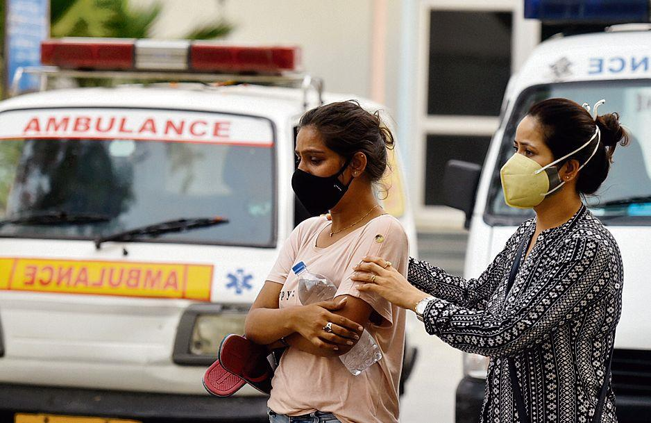 In Delhi, bed with ventilator hard to find