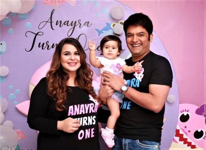 Kapil Sharma and Ginni name their baby boy as Trishaan