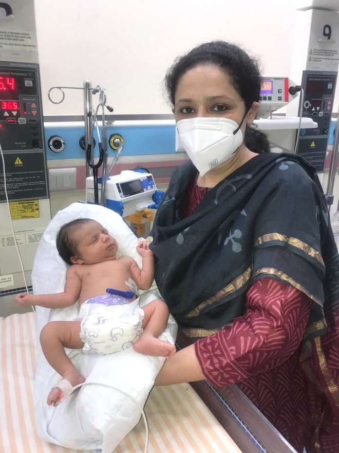 Covid-positive woman delivers healthy baby girl in Jalandhar