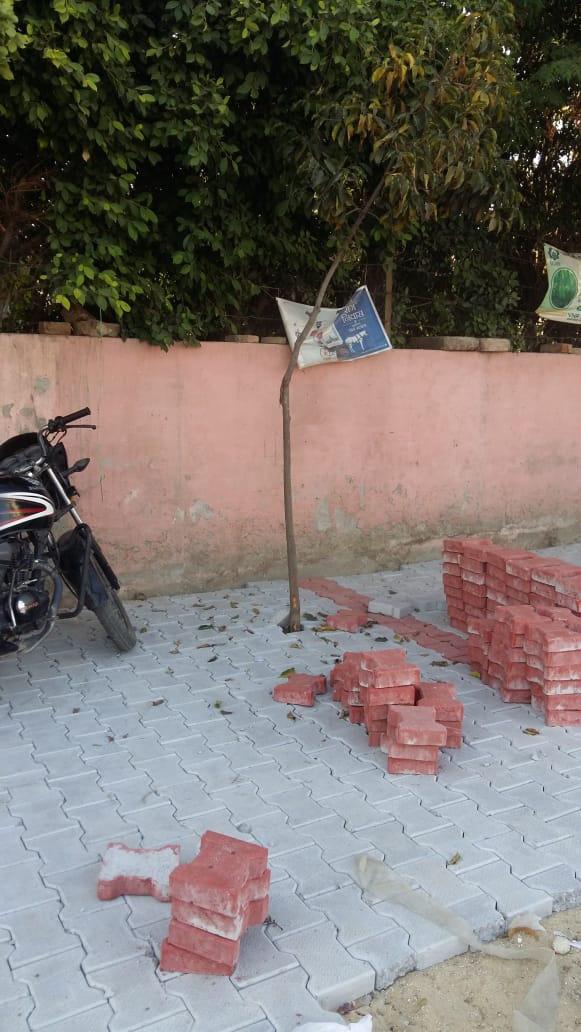 'Interlocking tiles not being installed in proper way'
