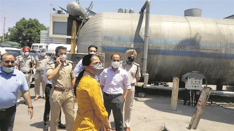 No oxygen shortage in Patiala: DC
