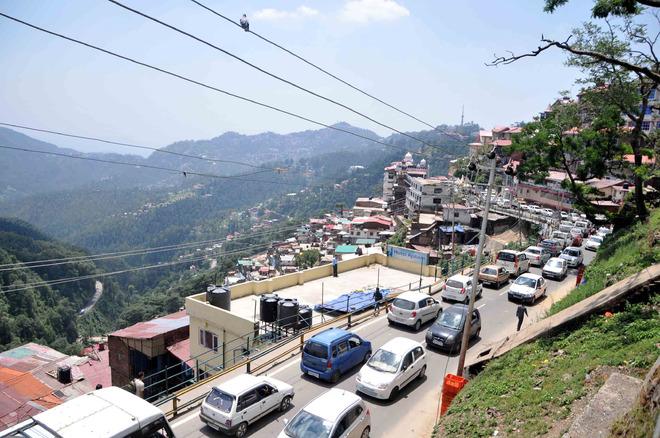60 CCTV cameras to check traffic violations in Shimla