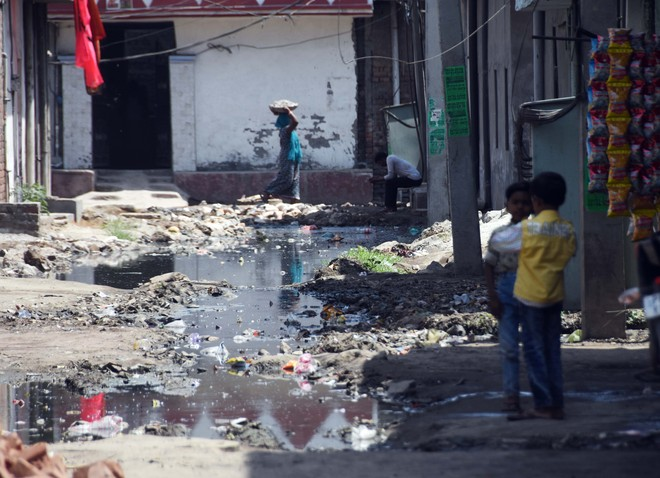 Choked, overflowing sewers lead to health issues