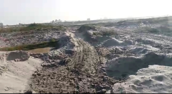 Illegal mining unabated on Sutlej riverbed in Moga