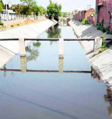 Work on Patiala's Jacob Drain, eastern drain completed