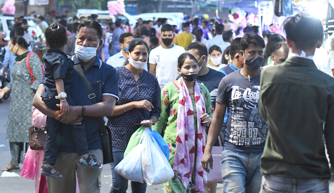 Amid Covid fear, crowd thins at Chandigarh markets, malls