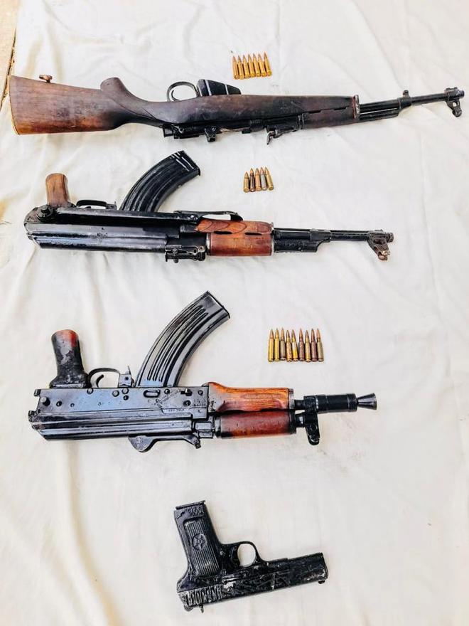 Ammo seized in Kishtwar