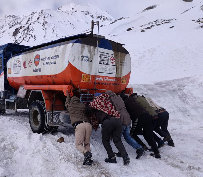 Manali-Leh highway opened for traffic