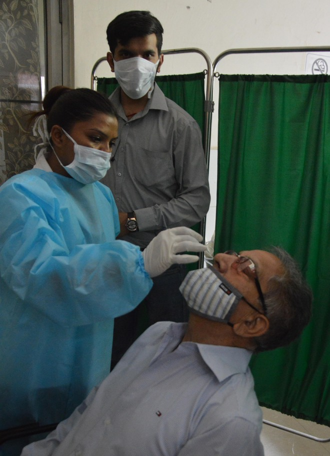 Biggest single-day spike,  530 test positive in Ludhiana district