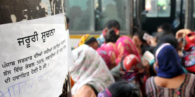 Running at a loss, pvt bus operators lay off staff