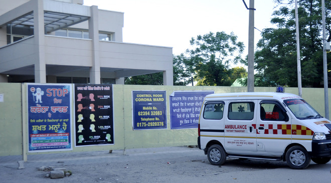 Covid deaths rose four times at Patiala's Rajindra Hospital in March
