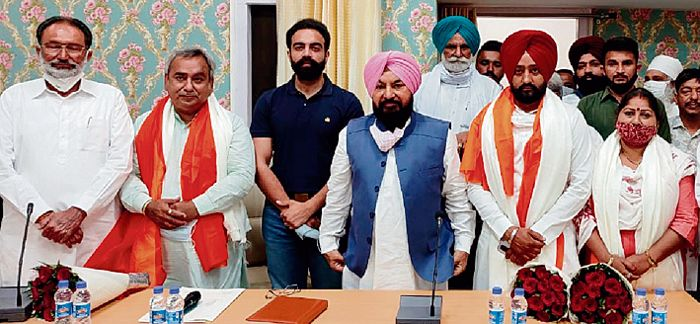 Narinder Shastri re-elected Rajpura MC president