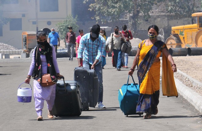 Can't leave jobs again, will stay put, say migrant labourers