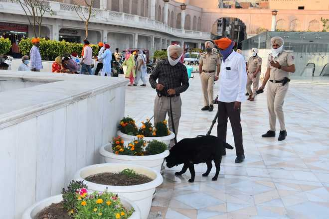 Search operation carried out in Amritsar
