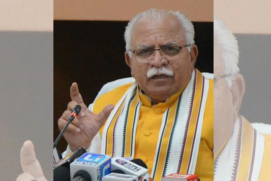 CM Manohar Lal Khattar to face farmers' protest in Sonepat