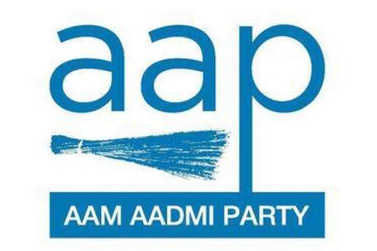 AAP protests at minister Bharat Bhushan Ashu's house