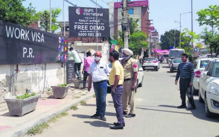 Pay advertisement tax, Amritsar Municipal Corporation tells IELTS centres, mobile companies