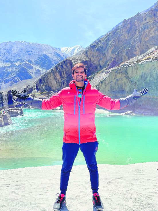 Tahir Raj Bhasin on shooting in Ladakh