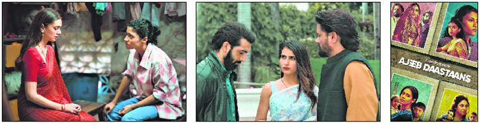 An anthology of four stories, Ajeeb Daastaans, brings together talented actors and directors