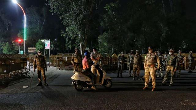 Night curfew in Panchkula
