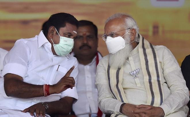 Modi calls Cong 'high-handed', rakes up Sabarimala issue