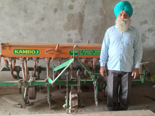 Marginal farmer comes up with agri tools hiring centre