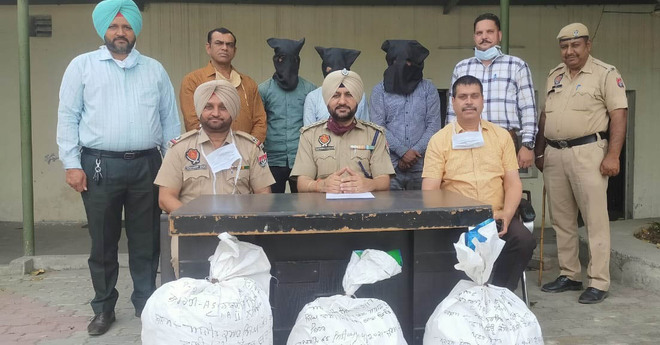 Three nabbed with 45-kg cannabis