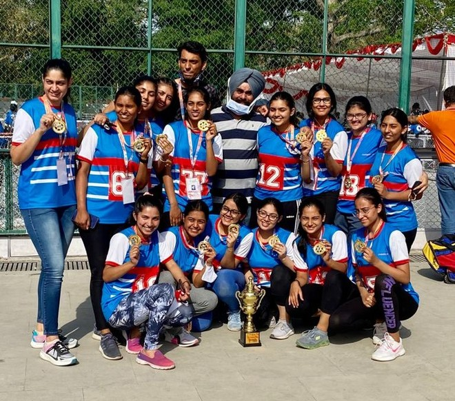 14 of Chandigarh women's hockey squad return home