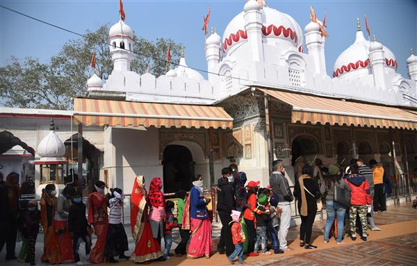 Get e-token for 'darshan' at Mansa Devi temple