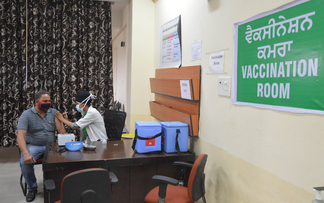 Ludhiana district leads in vaccination, 4.42 lakh inoculated