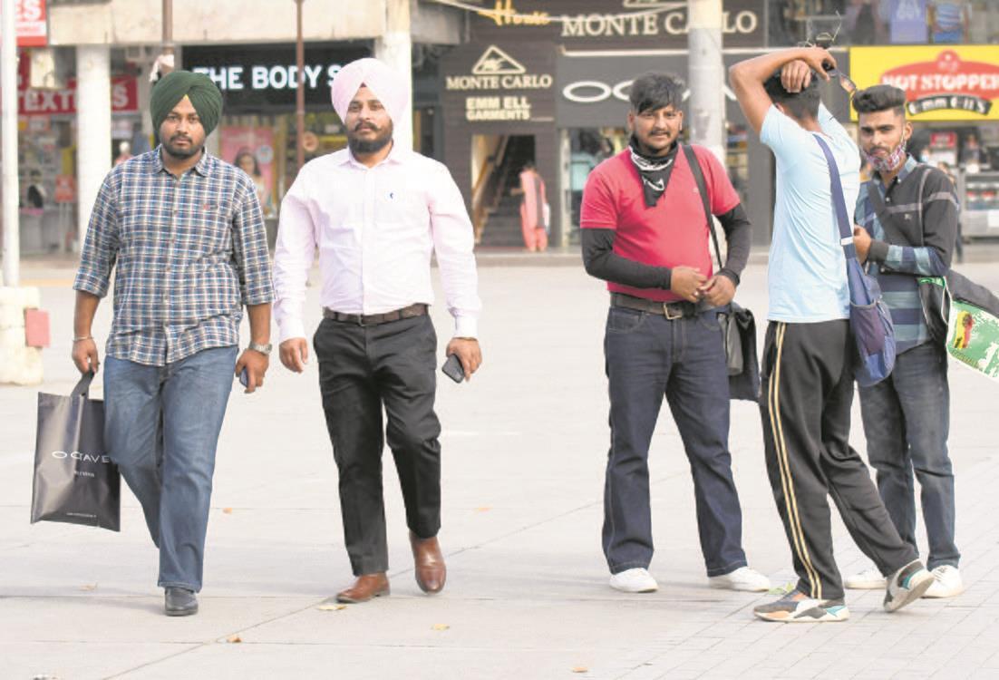 Weekend curfew on Chandigarh mind