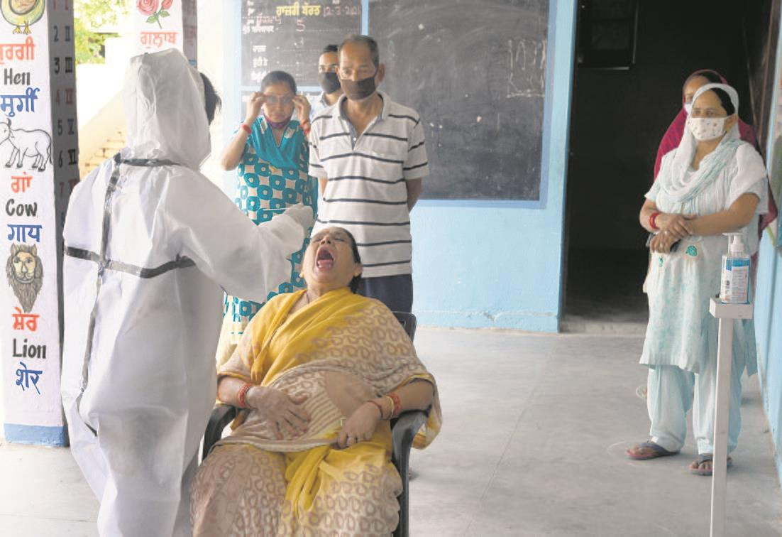 Testing contacts: 58 found +ve in Dhakoli containment zone
