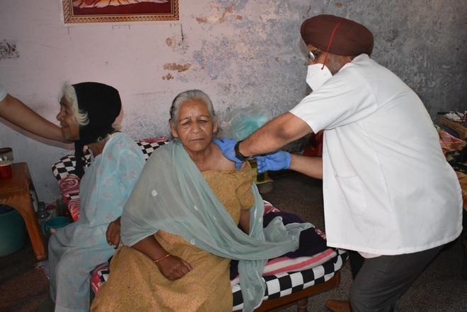 Vaccination drive begins in Hoshiarpur mandis, 60 inoculated in grain market