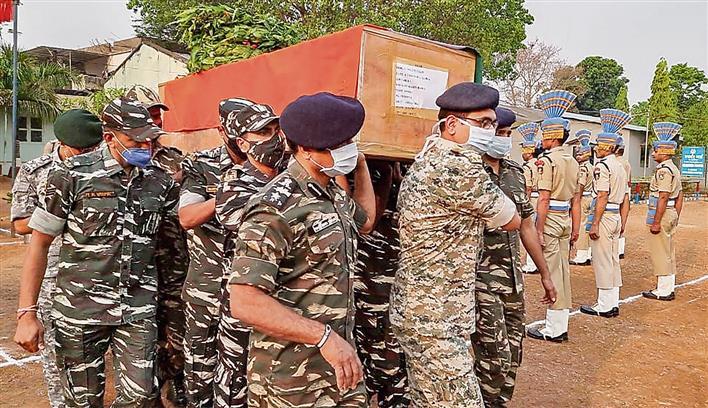 7 CoBRA men among 22 dead in Maoist attack
