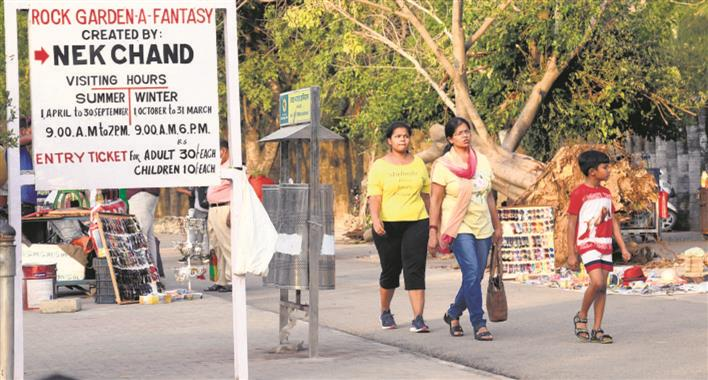 Rock Garden shut, Sukhna Lake out of bounds on weekends