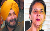 Sidhu couple sets political circles abuzz in Capt Amarinder Singh's bastion
