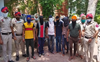 Robbers' gang busted: 6 held, 12 booked
