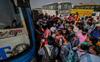 Surge triggers migrant exodus 2.0 in Gurugram