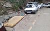 Goods dumped on Sanjauli-IGMC road