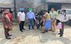 To avoid mishaps, Ludhiana MC ties radium bands around neck of stray cattle