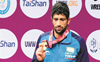 Bajrang settles for Asian silver, Dahiya retains 57 kg title
