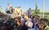 Denied entry, farmers block Haryana-UP border