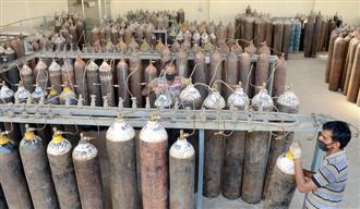 Prices of oxygen cylinders spiral amid high demand