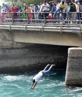 Jobless teachers jump into canal in Patiala, rescued