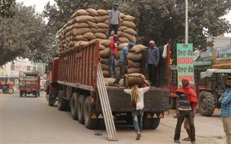 11 trucks with other states' wheat seized in Patiala