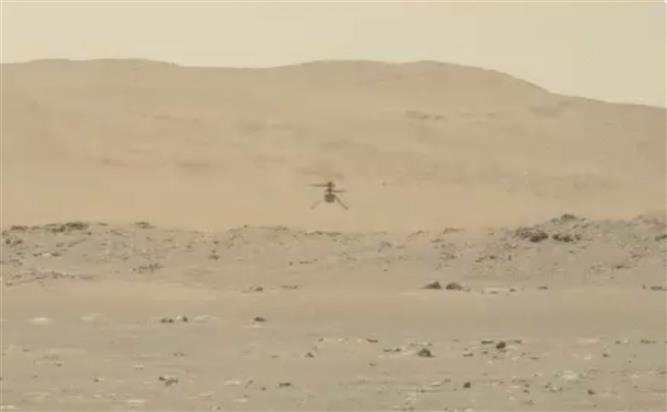 NASA's Mars helicopter Ingenuity shifts into new operational test phase